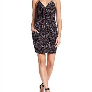 BCBG faux wrap mini dress. Size M.